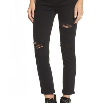 Hudson Jeans Zoeey High Waist Crop Jeans (Ambiance) | Nordstrom