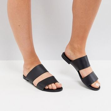 Truffle Collection Mule Flat Sandal at asos.com