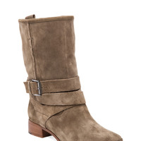 Belle By Sigerson Morrison Who Moto Bootie in Alpaca from REVOLVEclothing.com