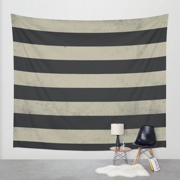 Gray stripes Wall Tapestry by Xiari | Society6