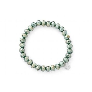 Clarksville Winter Green Sparkle Bracelet