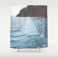 Ocean State Shower Curtain by Ashley Hillman