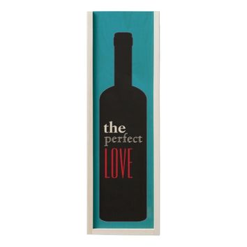 THE PERFECT LOVE WOODEN WINE BOX