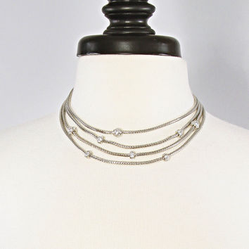 cable classics necklace - silver