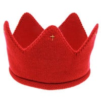 Baby Infant Headwear  Cute Baby Boys Girls Crown Shape Knitted Headband Hat Photography Props #2132