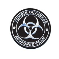 """Embroidered Iron On Patch - Zombie Outbreak Response Team 3.5"""" Patch"""