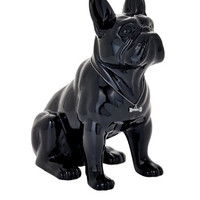 Torre & Tagus 900858 Sitting French Bulldog Sculpture, Black