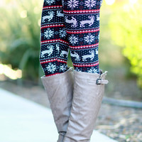 CHRISTMAS NIGHT LEGGINGS