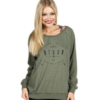 Nixon Captivated Sweater Spruce/Heather - Zappos.com Free Shipping BOTH Ways