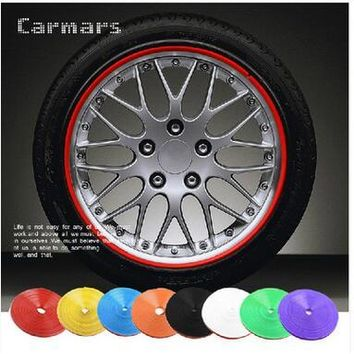 8 Meter/Roll Car Wheel Protection Sticker cover . for  DODGE JCUV Journey RAM GMC CALIBER CHARGER CARAVAN NITRO CHALLENGER