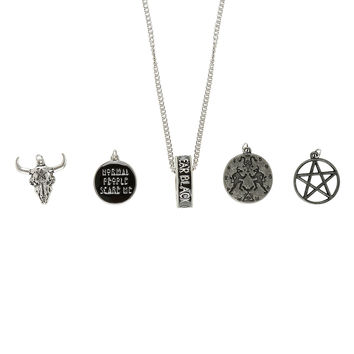 American Horror Story Coven Multi Charm Necklace