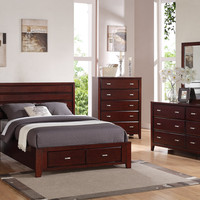 Alpine CARRINGTON CALIFORNIA KING STORAGE BED
