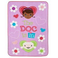 Disney Doc McStuffins ''Doc Is In'' Plush Blanket