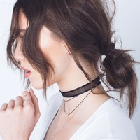 Mesh Choker Necklace