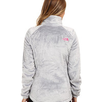 The North Face Pink Ribbon Osito 2 Jacket High Rise Grey - 6pm.com