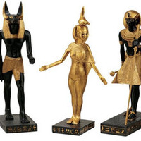 Gods of the Egyptian Realm Statues - WU9600