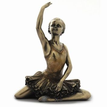 Ballerina Warming Up Figurine