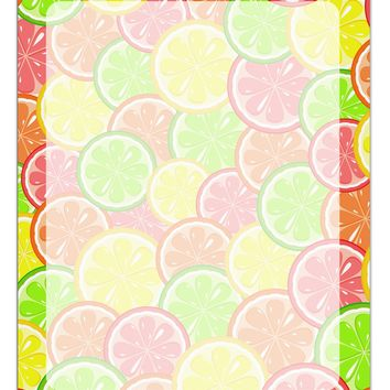 Colorful Citrus Fruits Aluminum Dry Erase Board All Over Print