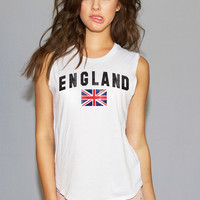 England World Cup Muscle Tee