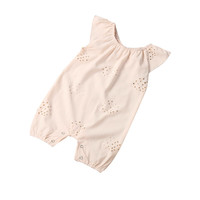 2017 Fashion Cute New baby girls jumpsuits baby body suits  Newborn Infant Baby Boys Girls Romper Jumpsuit Pink Outfits Clothes