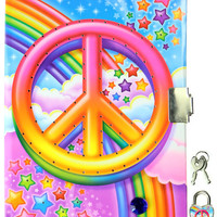 LISA FRANK PEACE LIGHT UP DIARY