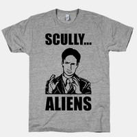 Scully ... Aliens