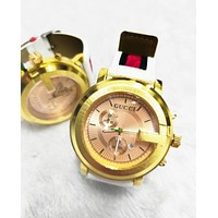 Gucci Fashion New Quartz Couple Watches Wrist Watch 45MM