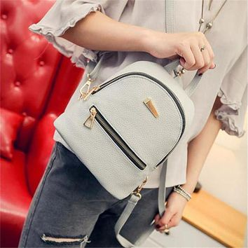 Naivety Women Bag New Fashion PU Leather Backpack Sweet Shoulder Travel Mochila CS61108 drop shipping