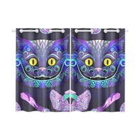Cheshire Cat Kitchen Curtain