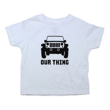 Jeep Bodysuit and Tee