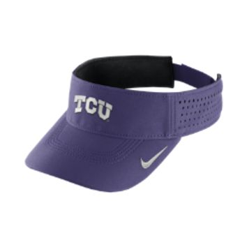 Nike Dri-FIT (TCU) Adjustable Visor (Purple)