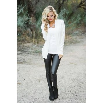 High Waisted Liquid Leggings