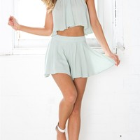 Elixir Two Piece Set in mint | SHOWPO Fashion Online Shopping