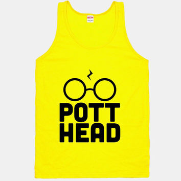 Harry Pott Head Tank- Hipster Shirts