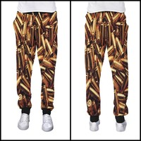"""""""Gold Ammo Joggers"""" from FVMOUS CLOTHING"""