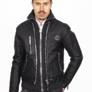 Philipp Plein mens jacket HM211630 BLACK