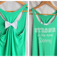 Strong Is The New Skinny - Green Wo.. on Luulla