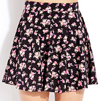 Dainty Rose Skater Skirt