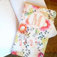"May Designs ""Watercolor Garden"" Initial Notebook"