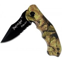 Kerusso Camo Folding Christian Knife