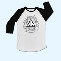 Harry Potter Deathly Hallows T-Shirt - Gift for friend - Present