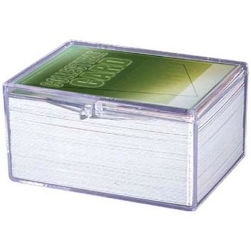 Ultra Pro 100Ct Snap Hinged Card Case (100Case)