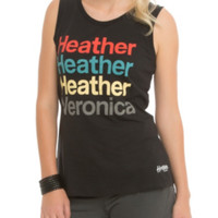 Heathers: The Musical Names Girls Muscle Tee