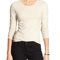 Banana Republic Womens Factory Scoop Neck Tee