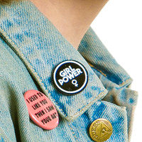 Girl Power Pin