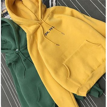 JOYINPARTY 2017 Autumn Winter Oversized Women Hoodies Plus Size Black White Yellow Hooded Fleece Warm Cropped Hoodie Sweatshirt