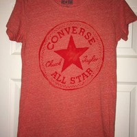 Sale!! Vintage CONVERSE All Star Chuck Taylor Casual tee T shirts