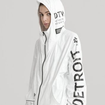 TYVEK DETROIT ZIP-UP