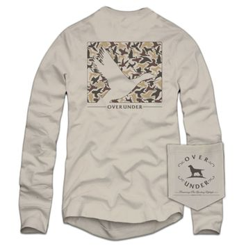 Old School Silhouette Long Sleeve Tee by Over Under Clothing