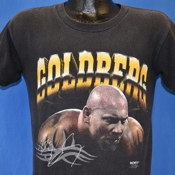 90s WCW Wrestling Bill Goldberg t-shirt Youth Extra Large